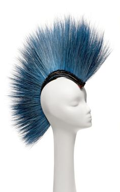 Blue Peacock Mohawk by New York Vintage Now Available on Moda Operandi