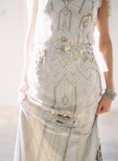 jenny packham wedding dress via once wed