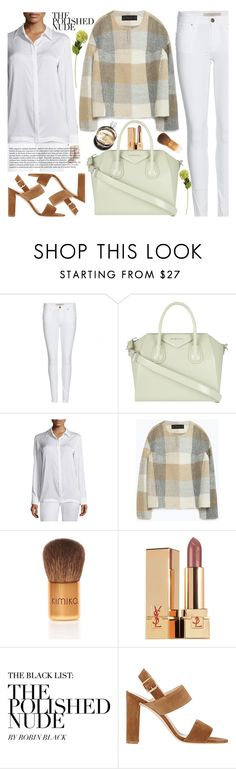 """#totebags"" by elena-starling ❤ liked on Polyvore featuring Burberry, Givenchy, DKNY, Chanel, Zara, Kimiko, Yves Saint Laurent, Manolo Blahnik, OKA and women's clothing"