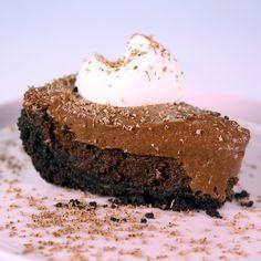 Chocolate Mousse Cake Pie Recipe  https://sites.google.com/site/lovelyladycakestv/chocolate-mousse-cake-pie