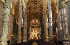 1 | Igreja de Santa Maria de Belém »  The vaulting of the church of the…