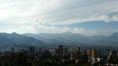 Panorama von #Medellin, #Kolumbien