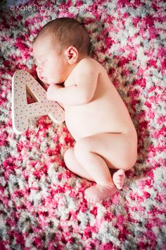 A is for... - newborn photography - little girls