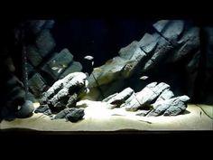 65g Tanganyikan DIY rockscape - YouTube