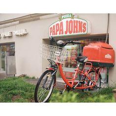 20 отметок «Нравится», 1 комментариев — Ivan (@tsymbaloff) в Instagram: «#papajohns #pizza #nsk #панаджонс #пицца #новосибирск #велосипед #bike #kodakgold200…»
