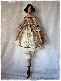 Tilda doll Textile doll Tilda doll in Vintage style Handmade