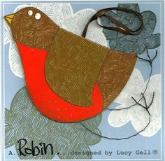 Pop-Up 3D Hanging Robin Red Breast Bird Card £8.00