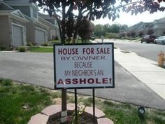 12 Absolutely Hilarious Real Estate Signs (funny signs, real estate signs) - ODDEE