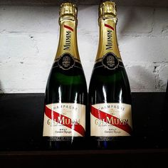 Mumm half bottles have been flying out the door for Christmas. At $25 per bottle, why wouldn't they be?  #wine #champagne