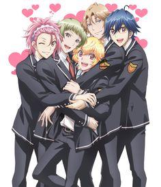 El Anime Binan Koukou Chikyuu Bouei-bu LOVE! LOVE! se estrenará el 7 de Julio.