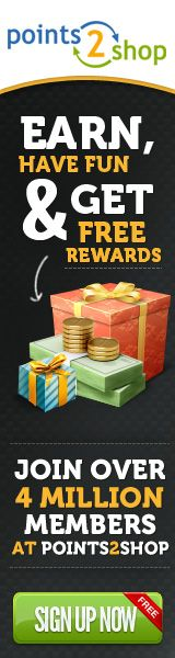 Setting a goal of earning $10/day at Points2Shop.  I haven't been bothering with earning points, only surveys for cash, because they don't have a way to convert your points to cash directly.  They do have a prepaid card you can use to turn your points into cash but it's only for online use.  550 points equals $5.  I might consider that later on but it's not very convenient.