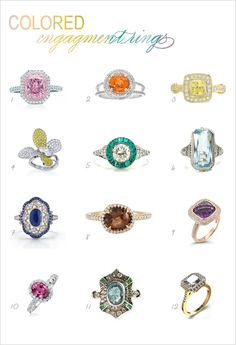 I would cry of happiness if seven was my engagement ring.