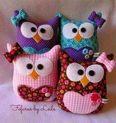 Bildergebnis für gallina porta bolsa paso a paso Sewing Toys, Sewing Crafts, Sewing Projects, Craft Projects, Owl Crafts, Diy And Crafts, Arts And Crafts, Fabric Toys, Fabric Crafts
