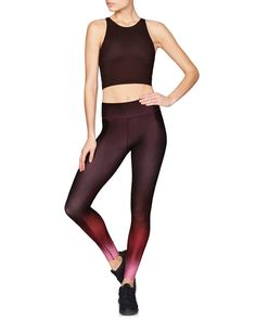 Our best-selling tight and exactly what you need to power through any workout. You'll love the:  Lightweight, high-performance compression fabric to slim and support your muscles Wide flat waistband to disguise eliminate any muffin top! 4-way stretch for incomparable freedom of movement Odour-resistant, anti-microbial, quick-drying fabric with a luxe feel 24 1/2 inch inseam to hit at the ankle  Best for: All workouts CLICK HERE FOR OUR SIZE GUIDE The Sisterhood of the Spandex Pants A…