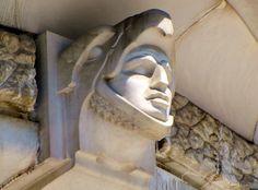 Art Deco architectural detail | Detail, Palace of Fine Arts (Palacio de Bella Artes), Mexico City ...