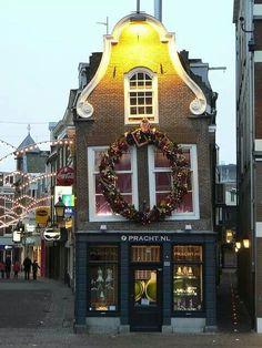 Christmas Decoration in Utrecht - The Netherlands - by die_suhrbier Utrecht, Rotterdam, Kingdom Of The Netherlands, Amsterdam Netherlands, Places Around The World, Around The Worlds, Christmas In Europe, Christmas Markets, Voyage Europe