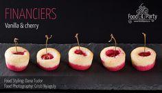 Financiers vanilla cherry Food Coloring, Food Styling, Macarons, My Recipes, Fondant, Gem, Food Photography, Cherry, Tasty