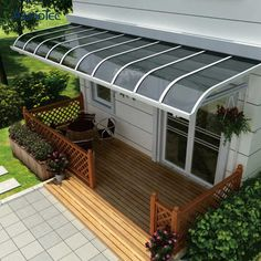 Best Selling Diy R Patio Awning Polycarbonate Terrace Awning - Buy terrace awning, Polycarbonate Terrace Awning, Patio Roof Awning Product on Aluminum Pergola-AlunoTec Rooftop Terrace Design, Balcony Railing Design, Roof Design, Patio Design, Patio Roof, Pergola Patio, Diy Patio, Backyard Patio, Awning Patio
