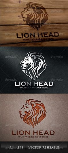 Logo Templates to Stimulate Your Imagination Logo Lion, Lion Head Logo, Lion Head Tattoos, Lion Tattoo Design, Lion Design, Tigres Logo, Lion Clipart, Logos, Lion Wallpaper