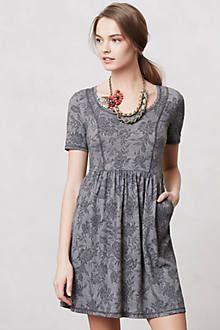 Jacquard Day Dress