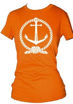 Hey, I found this really awesome Etsy listing at https://www.etsy.com/listing/72220809/nautical-boat-anchor-and-rope-t-shirt-or