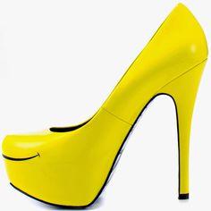 LIFESTYLE 350: Yellow Heels