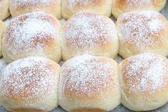 Japanske Melkeboller – Alt Asiatisk Hamburger, Baking, Recipes, Cakes, Hokkaido, Cake Makers, Bakken, Recipies, Kuchen