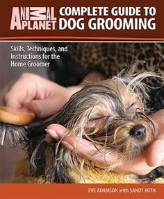 Complete Guide to Dog Grooming: Skills, Techniques, and Instructions for the Home Groomer (Animal Planet) Dog Grooming Tips, Grooming Salon, Grooming Yorkies, Dog Grooming Supplies, Dog Supplies, Yorshire Terrier, Yorky, Pet Health, Health Tips