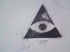 All Seeing Eye #stencil