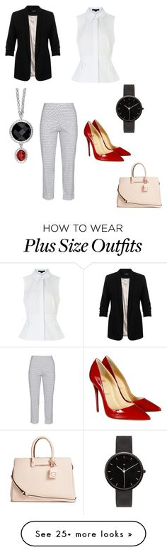 """""""Staring Fashion Sense"""" by jnnipper on Polyvore featuring Miss Selfridge, Sallie Sahne, Alexander Wang, Christian Louboutin, I Love Ugly, GUESS, women's clothing, women, female and woman"""