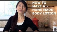 How To Make Homemade Body Lotion With The Face Yoga Method, via YouTube.