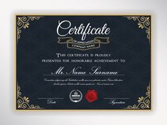 Are you planning to conduct some kind of event, training, competition soon? If so, you need to take care of certificates. Their design depends on what kind of event is going to be held. Certificate Layout, Free Certificates, Certificate Design Template, Letterhead Template, Brochure Template, Flyer Template, Words Of Appreciation, Certificate Of Appreciation, Elegant Business Cards