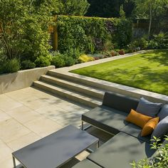 Contemporary Family Garden