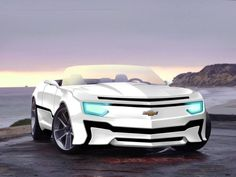 What do you think of this futuristic-looking Camaro concept?