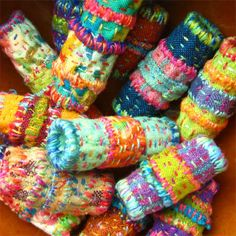 The Quilted Bead.  Are these not lovely?