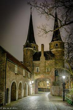 Photograph Oostpoort in Delft by Wim Van de Water on 500px