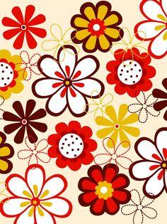 私のアイコススキンシールと同柄だ! Flower Wallpaper, Cool Wallpaper, Iphone Wallpaper, Textile Patterns, Print Patterns, Stencil Art, Floral Illustrations, Pattern Illustration, Doodle Drawings