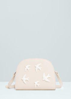 Crossbody tas met appliques - Handtassen voor Dames | MANGO België