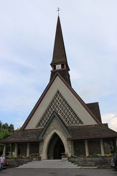 Maurice Novarina: Notre Dame du Leman in Vongy, France