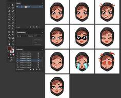 Custom Khaleeji Woman emoji tutorial