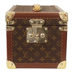 Pre-Owned Louis Vuitton Boite Flacons Beauty Trunk Train Case M21828  ( 2 235e1cdc6349a