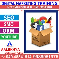 Marketing Training, Online Marketing, Social Media Marketing, Digital Marketing, Seo Sem, S Mo, Youtube, Projects, Log Projects