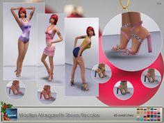 Elfdor: Madlen`s Margareth Shoes Recolor • Sims 4 Downloads