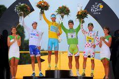 Le Tour de France 2014. Winnaars van alle afzonderlijke klassementen