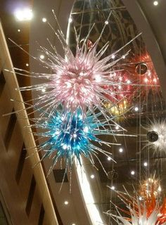 Make these fantasy glass sea urchins! Great for jewelry or home