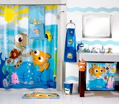 Finding Nemo Bathroom Decor. More Information