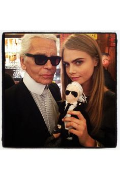 Cara spends time with Karl and Karl - This Week In Pictures