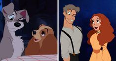 I Draw Disney Animals As Humans With Their Unique Personalities | Bored Panda