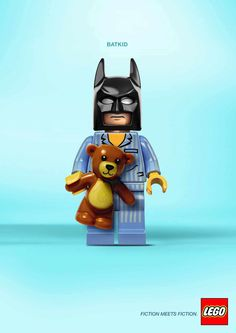 Un estupendo ejemplo de #publicidadcreativa de #Lego ¡Feliz martes!