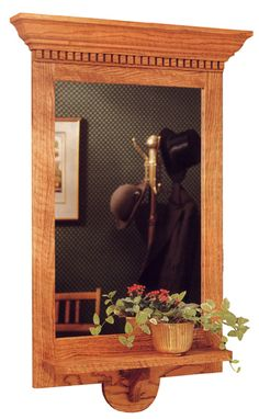 Federal-Style Wall Mirror Woodworking Plan from WOOD Magazine